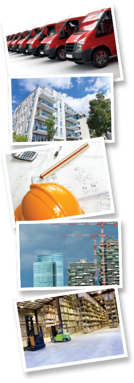 motor fleets, property, professional indemnity, contractor, small businesses & commercial insurance